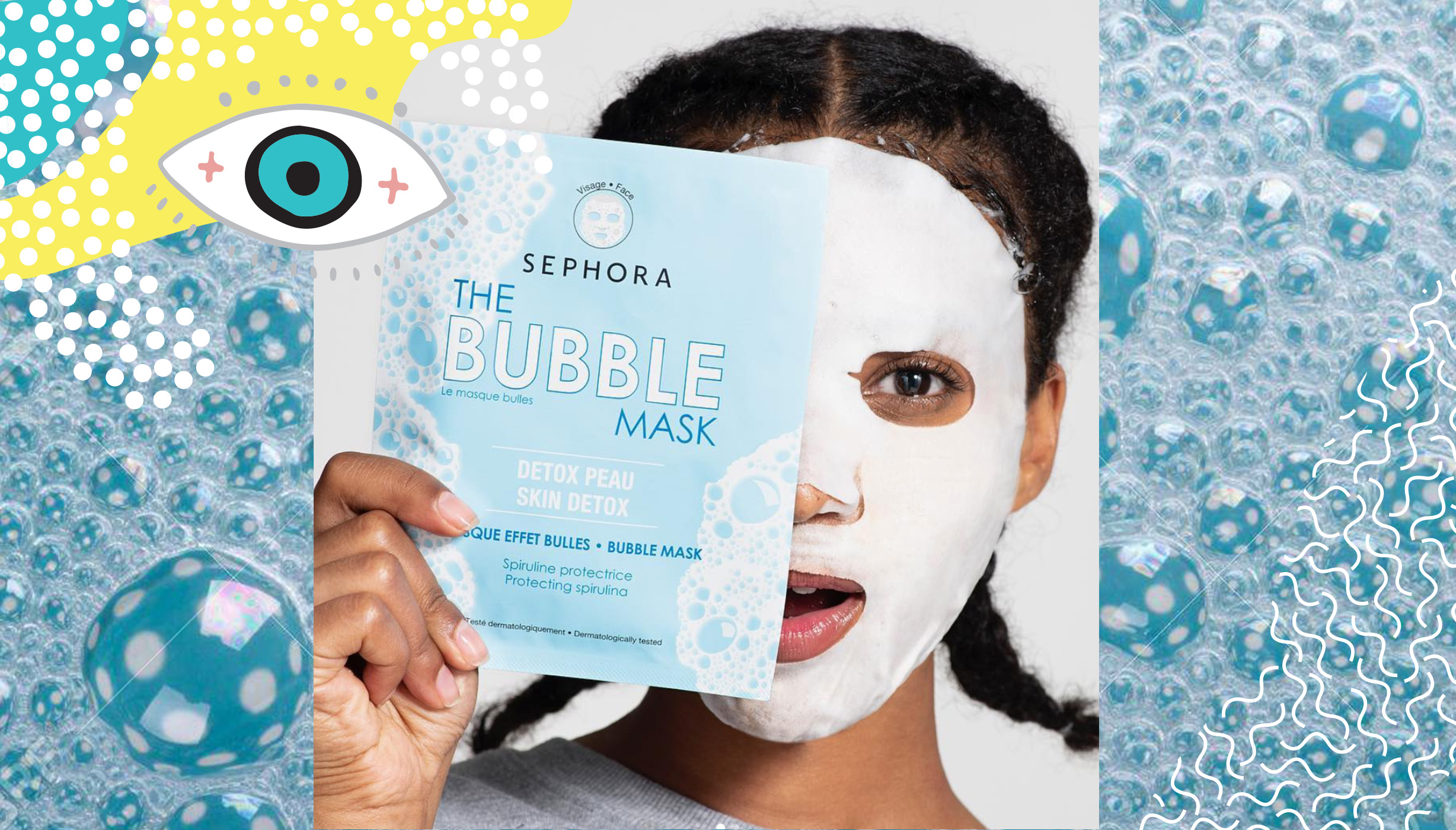The Bubble Mask By Sephora Collection