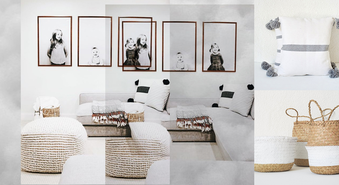 Neutral Living Room | Get the Look - The Modern East